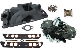 HP 500 Style Intake/Carburetor Package with Anodized Intake - Oval Port