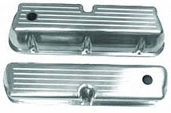 Small Block Ford Windsor Valve Covers Polished