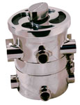 "1"" NPT Standard Swirl-Away High Performance Sea Strainer"