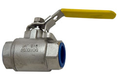 "3/4"" NPT Stainless Steel Water Shut-Off Valve"