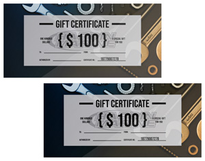 CP Performance Gift Certificate