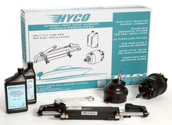 HYCO Outboard Steering Kit with Tilt Helm