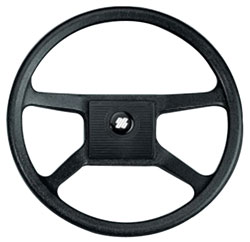 V33G Black Ultraflex Steering Wheel