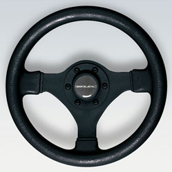 V45 Black Soft Touch Ultraflex Steering Wheel