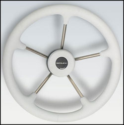 Stainless Steel Steering Wheel 13.8