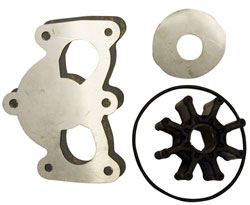 Deluxe Rebuild Kit for Gen 7 Sea Pump, Mercury 350, 496 and 502 Mag
