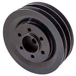 Billet 3-groove Crankshaft Pulley