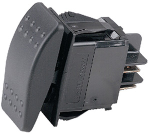 Ancor Sealed Rocker Switch Without Light Spst (On)-Off