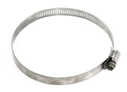 "Stainless Steel Hose Clamp 4"" - 5"""