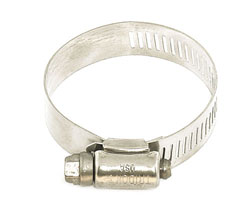 "Stainless Steel Hose Clamp 1"" - 2"""