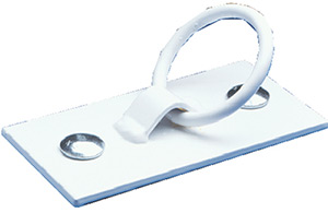 Dock Edge Mooring Ring White