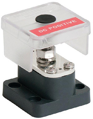 Marinco Insulated Stud - Single 8mm With Power Tapping Plate