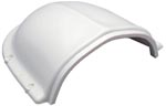 Marinco Clam Shell Vent, White