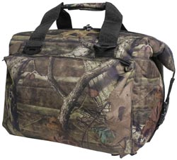 12 Pack Deluxe Cooler Mossy Oak