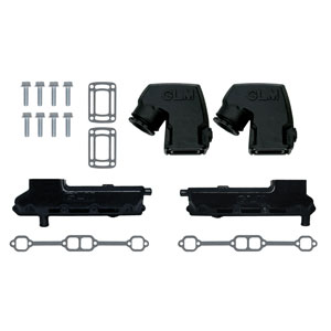 Complete Exhaust Manifold and Conversion Kit- GM V8 305/350 CID (1979-89)
