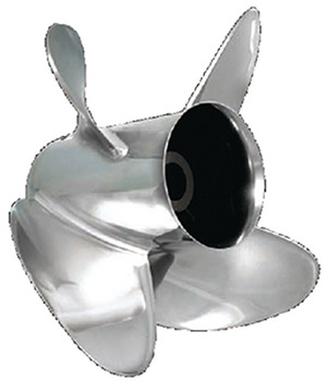 "90-300hp 4-3/4"" GEARCASE HUSTLER/EXPRESS 4-BLADE PROPELLERS (TURNING POINT PROPELLERS)"""
