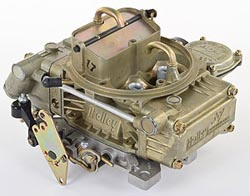 Model 4160 600 CFM Four Barrel Marine Carburetor with Vacuum Secondaries