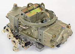 Model 4160 850 CFM Four Barrel Marine Carburetor with Mechanical Secondaries