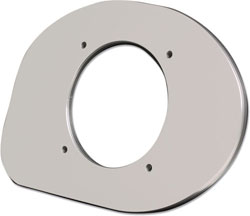 Side Mount Control Bezel - Mercury