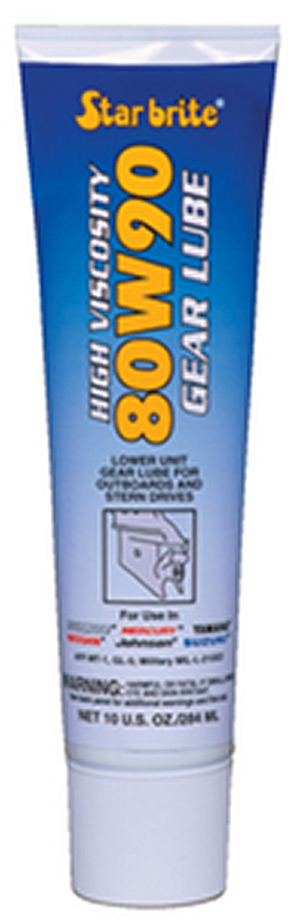 High Vis Gear Lube 80W90 10 Oz