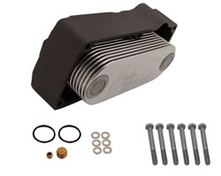 13 Plate Stainless Steel Oil Cooler Kit (Stbd)