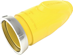 Connector (F) Cover, Yellow