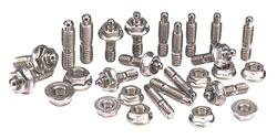 Oil Pan Stud Kit, Hex Stud Kit, Stainless 300, Big Block Chev