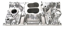Small Block Chevy V-8 Vortec Polished Performer