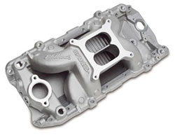 Big Block Chevy Oval Port RPM Air-Gap Manifold