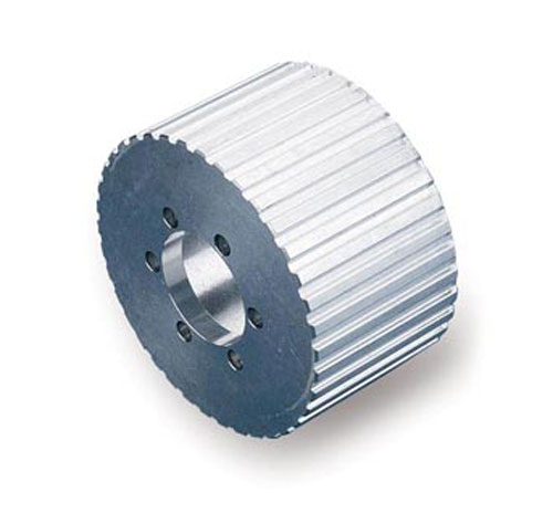 """Aluminum Supercharger Pulley: Billet Aluminum 1/2"""" Pitch Supercharger Pulley"""
