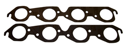"BBC Hurricane Header Exhaust Manifold Gasket - Large Round 2-1/4"" Port"