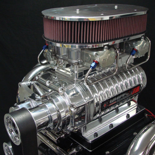 Whipple Superchargers Dealers: Whipple 5.0 Liter Carbureted Mammoth Screw Style