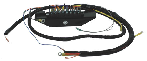 Terminal Block Style Marine Engine Wiring Harness - 460 Ford