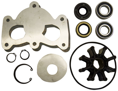 Hardin Marine - Deluxe Rebuild Kit for Gen 7 Sea Pump, Mercury 350, 496 and 502 Mag