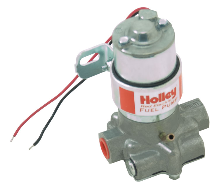 Holley Red Pump 97 GPH Free Flowing Factory Pressure Pre-set at 7 PSI
