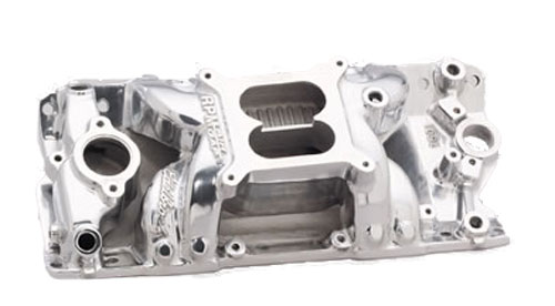 Small Block Chevy pre-1986 Polished RPM Air-Gap Manifold