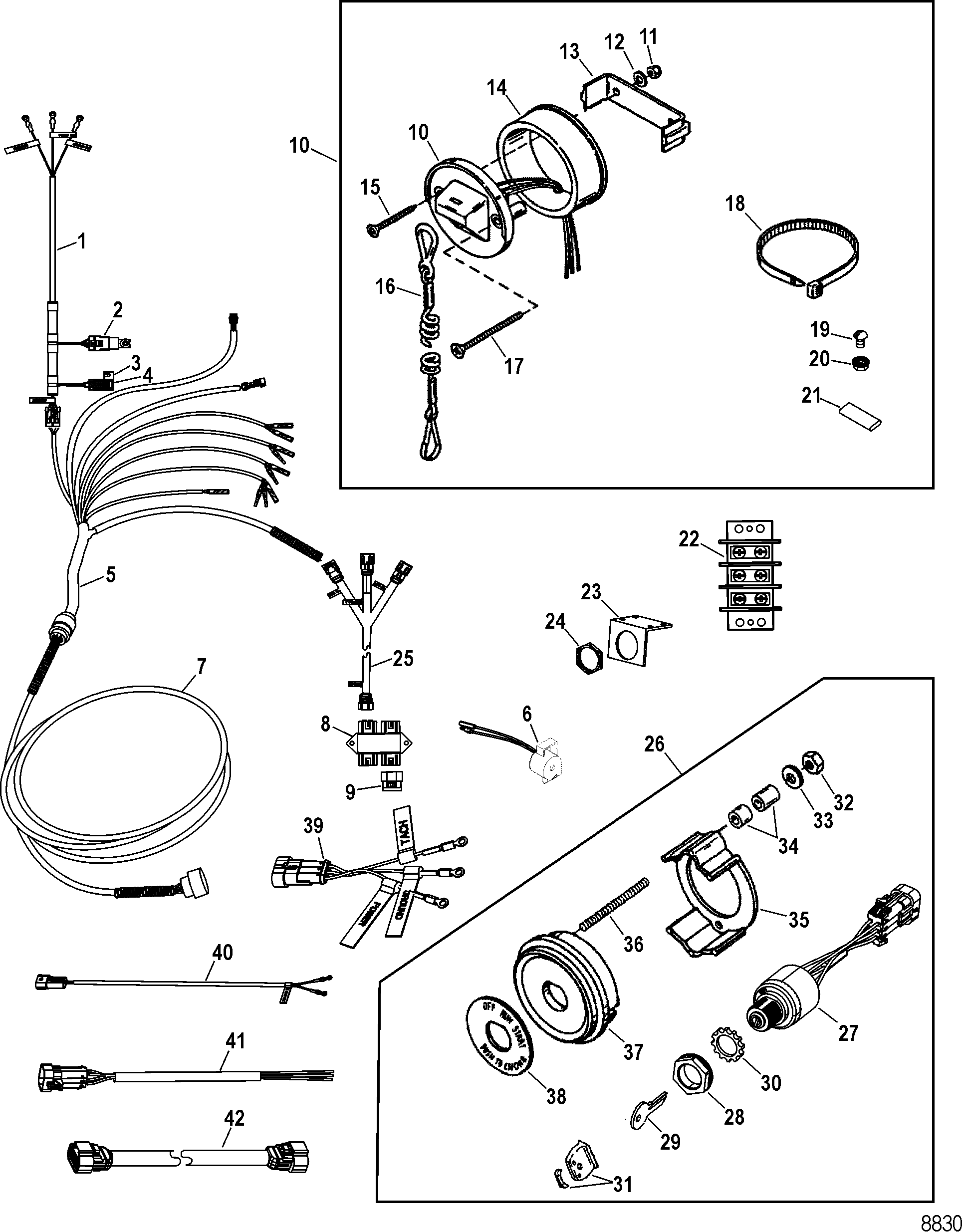 mercruiser thermostat replacement instructions