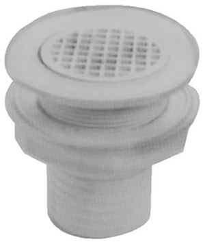 Cockpit Deck Drain Scupper Valve OD 2-7//8 Inch Boat Marine Use Above Water Line
