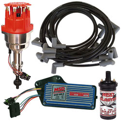 MSD Deluxe Ford Ignition Package