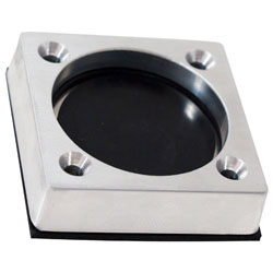 "Bilge ""J"" Drain- Self-Bailing- Satin Finish Billet Aluminum"