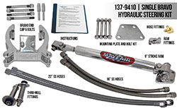 Mayfair Single Bravo/Single Ram Add-On Hydraulic Steering Kit