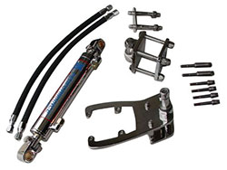Single Bravo Single Ram Add-On External Hydraulic Steering System