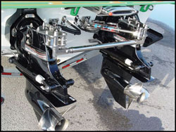 Dual Bravo Dual Ram Add-On External Hydraulic Steering System