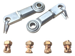 Calgo Steering Cable Rod End Hookup Kit