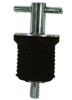 Twist-In Drain Plug- Aluminum
