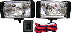 Anderson 55 Watt Halogen Docking Light Kit (Includes Pair of Lights, Wiring and Hardware)