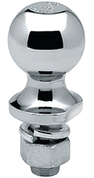 "Hitch Ball 2"" x 1-1/4"" x 2-3/4"", Bulk"""