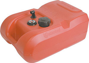Attwood Fuel Tank EPA Compliant 6 Gallon With Gauge