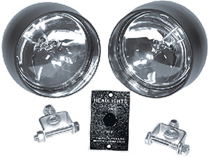 T-H Marine Head Light Kit (Includes Two Lamps, Switch Panel And Mounting Hardware)