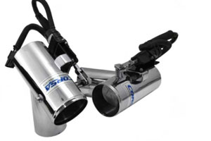 Corsa Captain's Call Exhaust Diverter Systems - 2010-2015 Mercruiser 5.0L - 6.2L Small Block Chevrolet